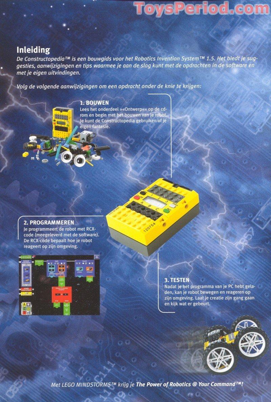 LEGO 9747 Robotics Invention System, Version 1 5 Set Parts