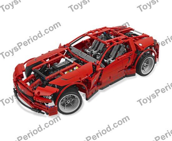 Red #2 Axle Rod ~ Technic ~ Lego ~ NEW 10