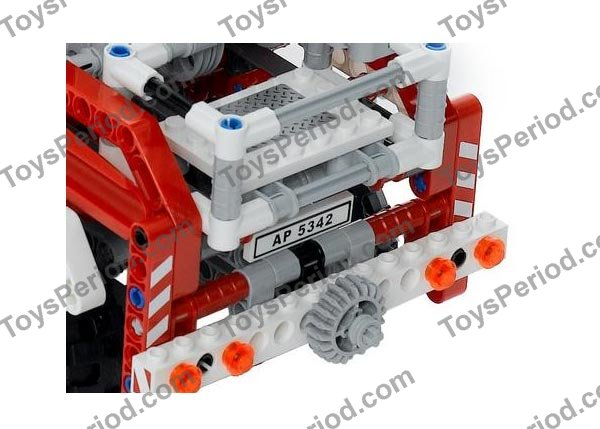 Lego 8289 Fire Truck Set Parts Inventory And Instructions Lego
