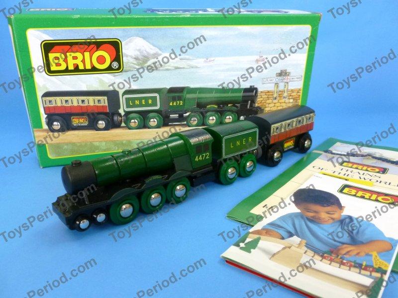 Brio Brio 33433 Flying Scotsman Wooden Railway Train Of World New