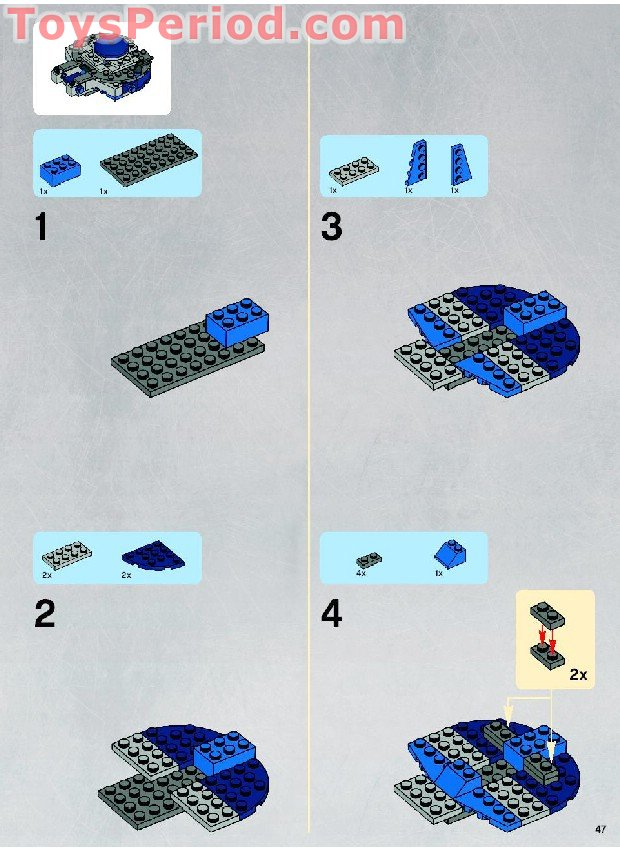 lego star wars tank instructions