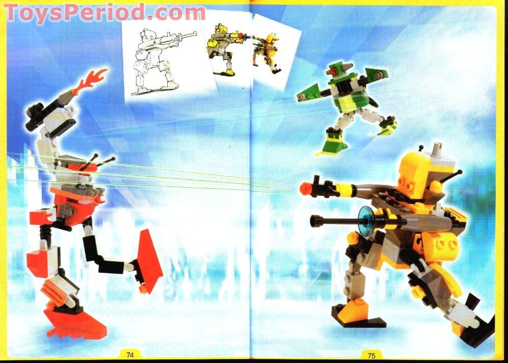Lego 4097 Mini Robots Set Parts Inventory And Instructions Lego