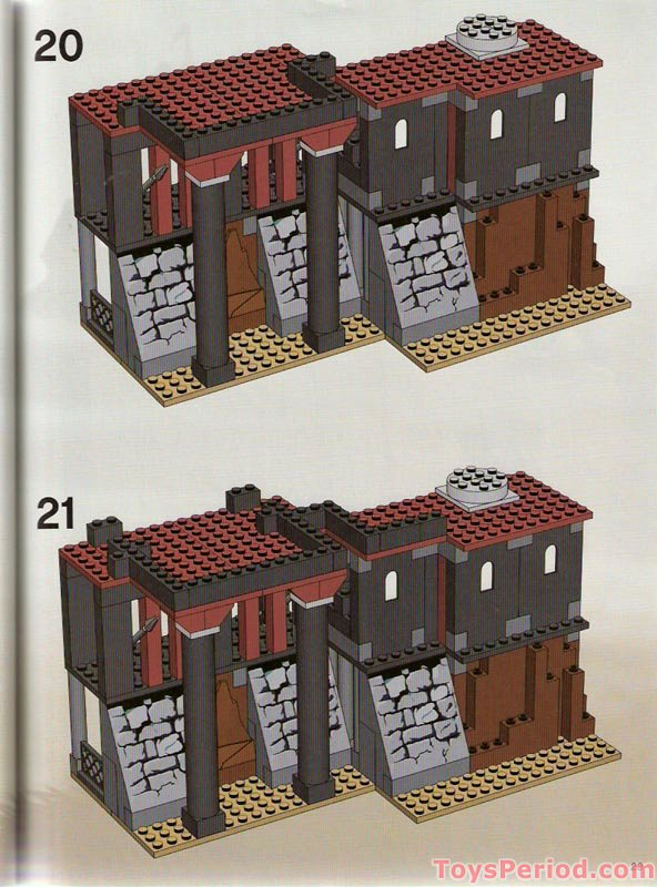 LEGO DkRed window Réf 30044 Set 7029//4768//8877