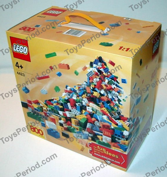 Lego 4423 Lego Creator Handy Box Of Bricks Set Parts Inventory And