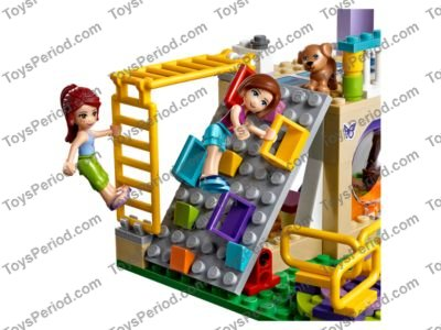 LEGO 41325 Heartlake City Playground Set Parts Inventory and ...