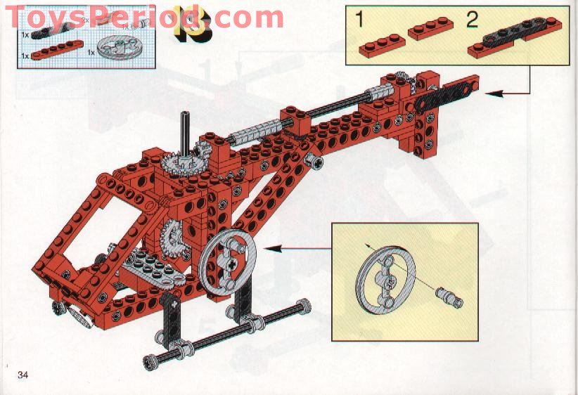 Lego 8032 Universal Set Set Parts Inventory And Instructions Lego