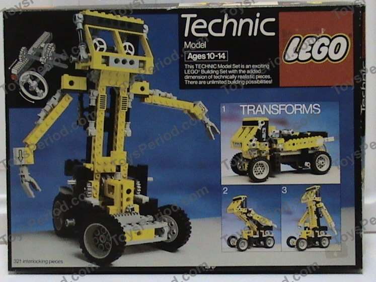 LEGO 8852 Robot Set Parts Inventory and Instructions - LEGO ...