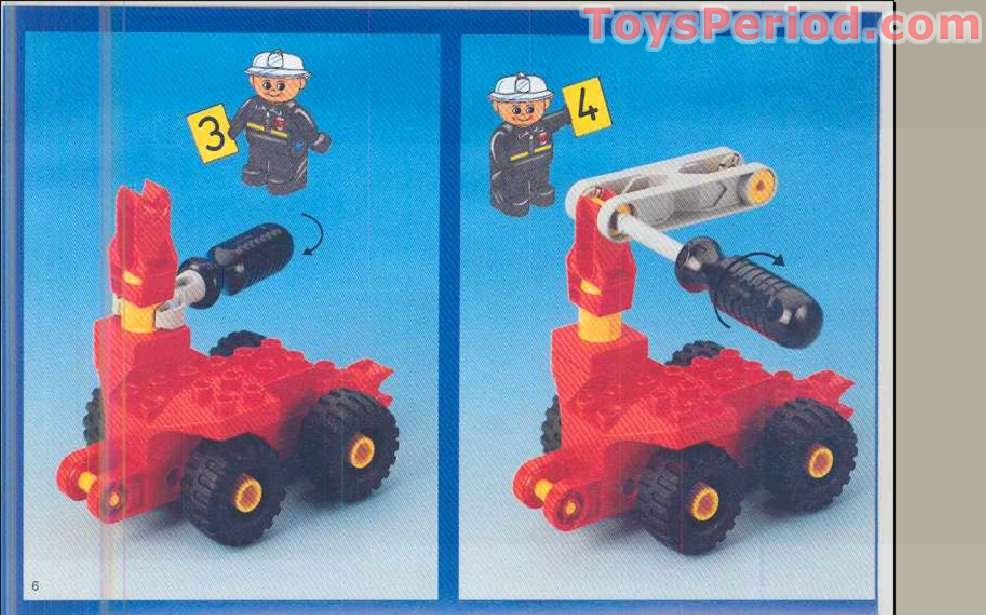 duplo fire truck 4977 instructions