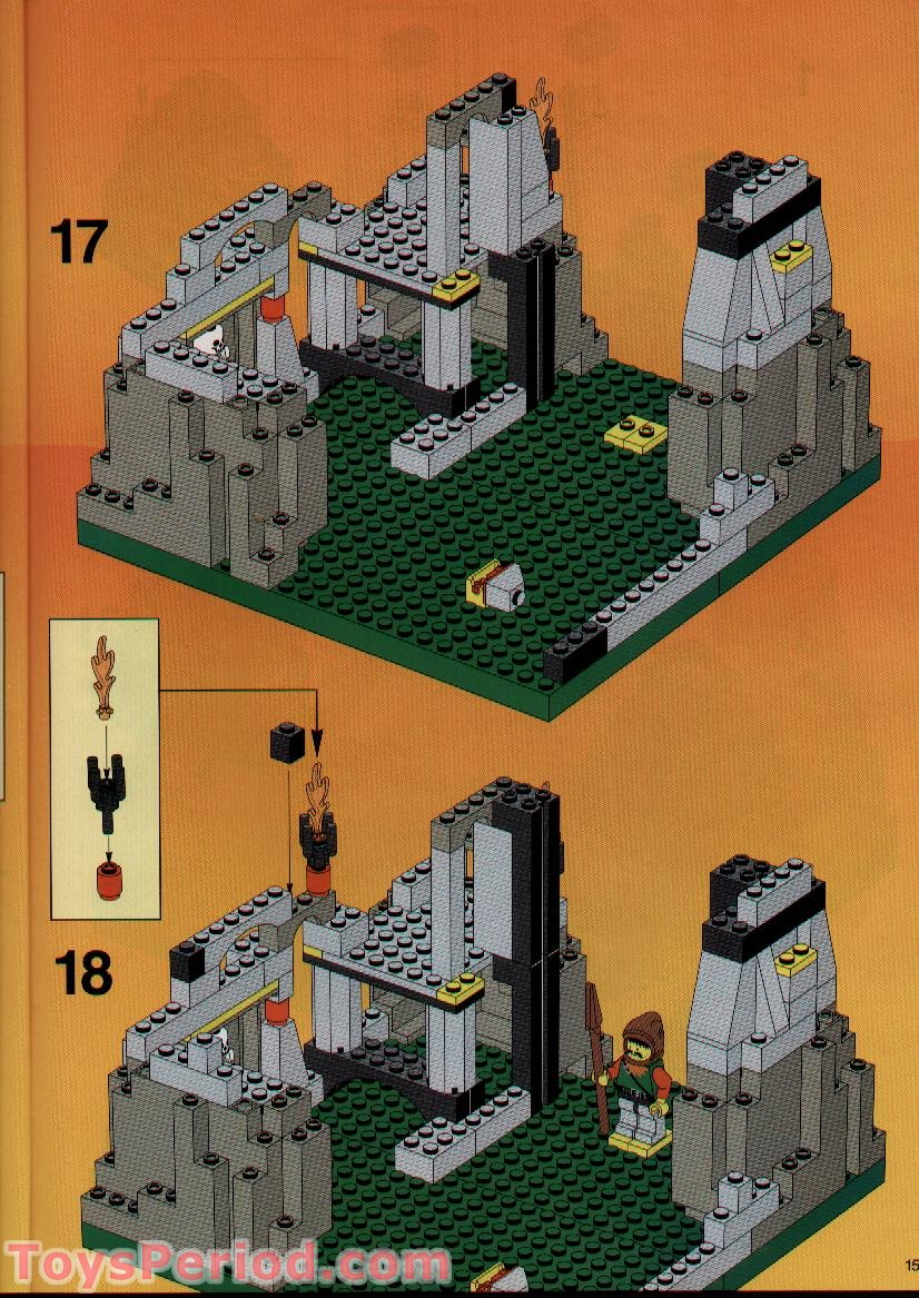 Lego 6087 Witch S Magic Manor Set Parts Inventory And