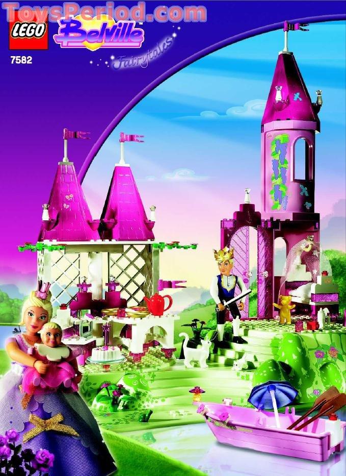 Lego 7582 Royal Summer Palace Set Parts Inventory And
