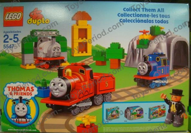 Lego 5547 James Celebrates Sodor Day Set Parts Inventory And