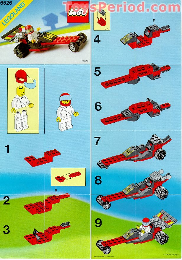 lego 6526 red line racer set parts inventory and instructions lego reference guide. Black Bedroom Furniture Sets. Home Design Ideas