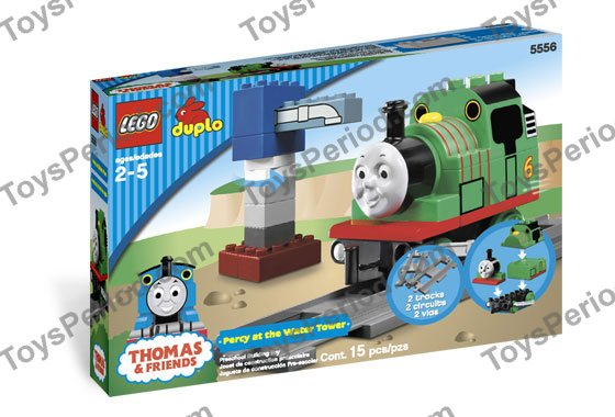 Lego 5556 Percy At The Water Tower Set Parts Inventory And