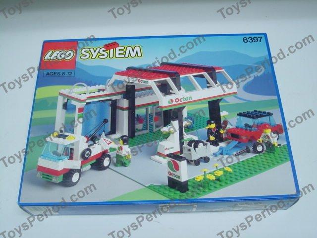 lego car wash instructions