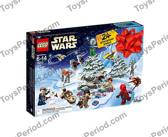 Builds Split from 75184 Party Bags Lego Star Wars Advent Calendar Minifigures