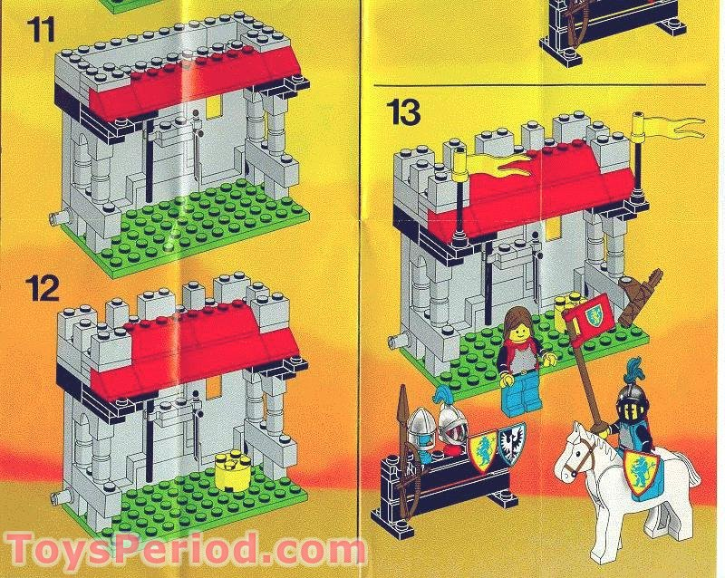 Lego 6041 Armor Shop Set Parts Inventory And Instructions Lego