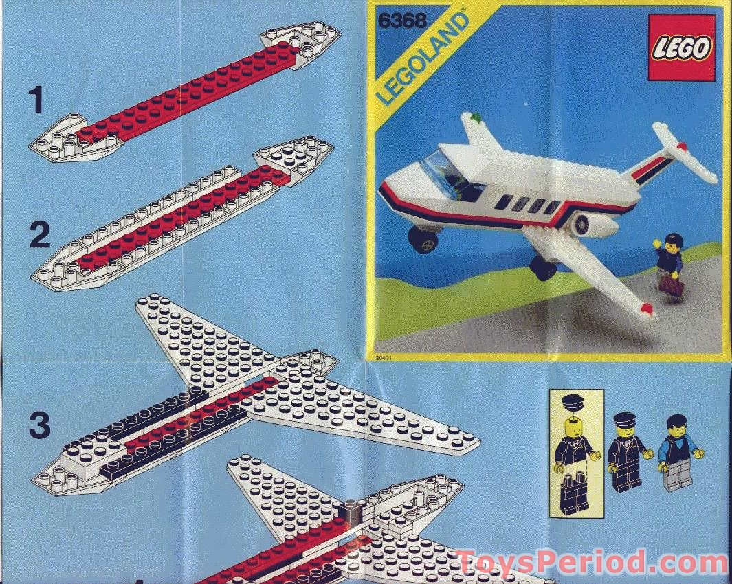 Lego 6368 jet airliner set parts inventory and for Lego classic house instructions