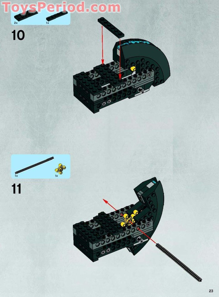 lego rogue shadow instructions