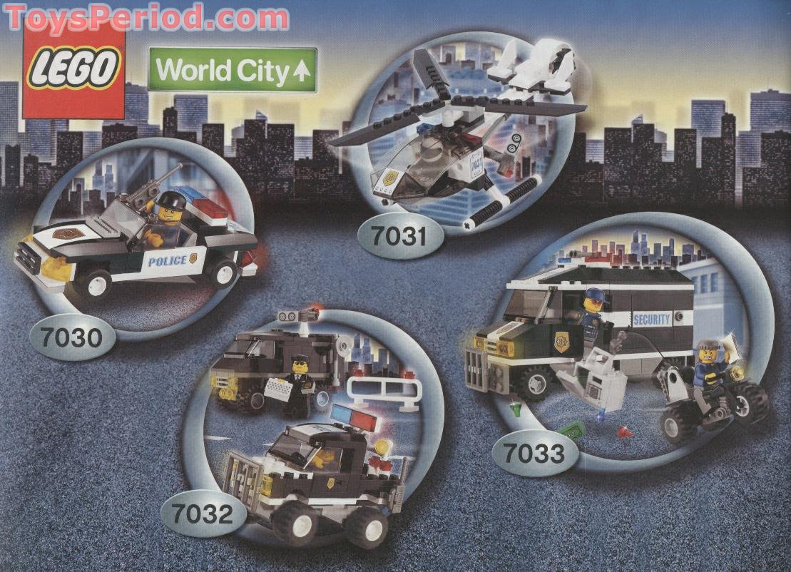 lego city instruction books