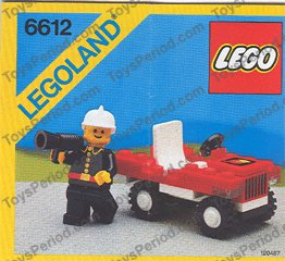 lego fire chief car instructions