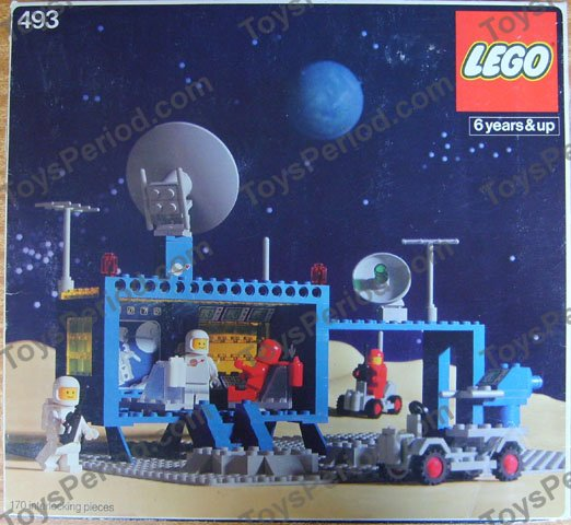 lego space center instructions
