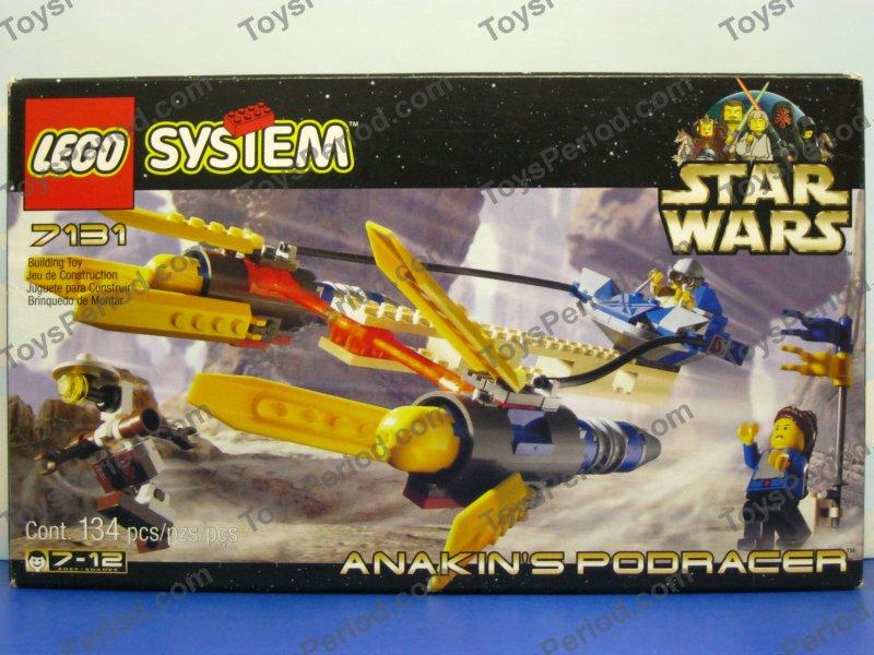 star wars sets - lego 7131 anakin's podracer 90s star wars episode