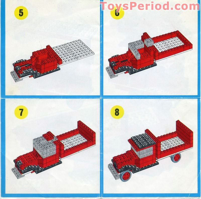 Lego 317 1 Truck Set Parts Inventory And Instructions Lego