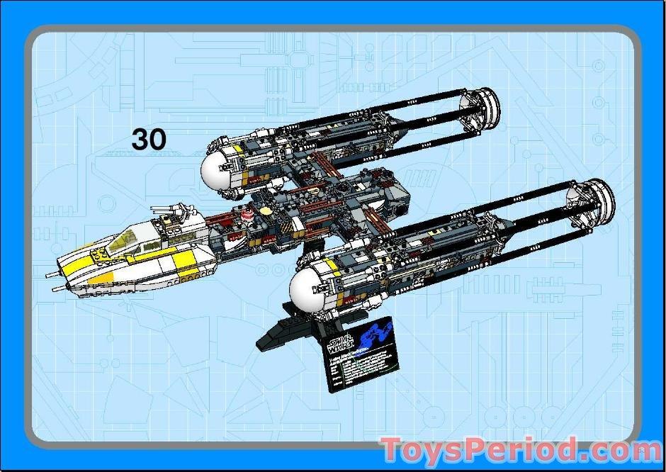 lego y wing instructions