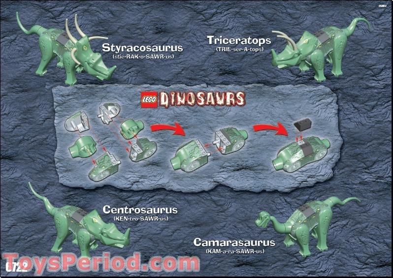 how to build a lego dinosaur instructions