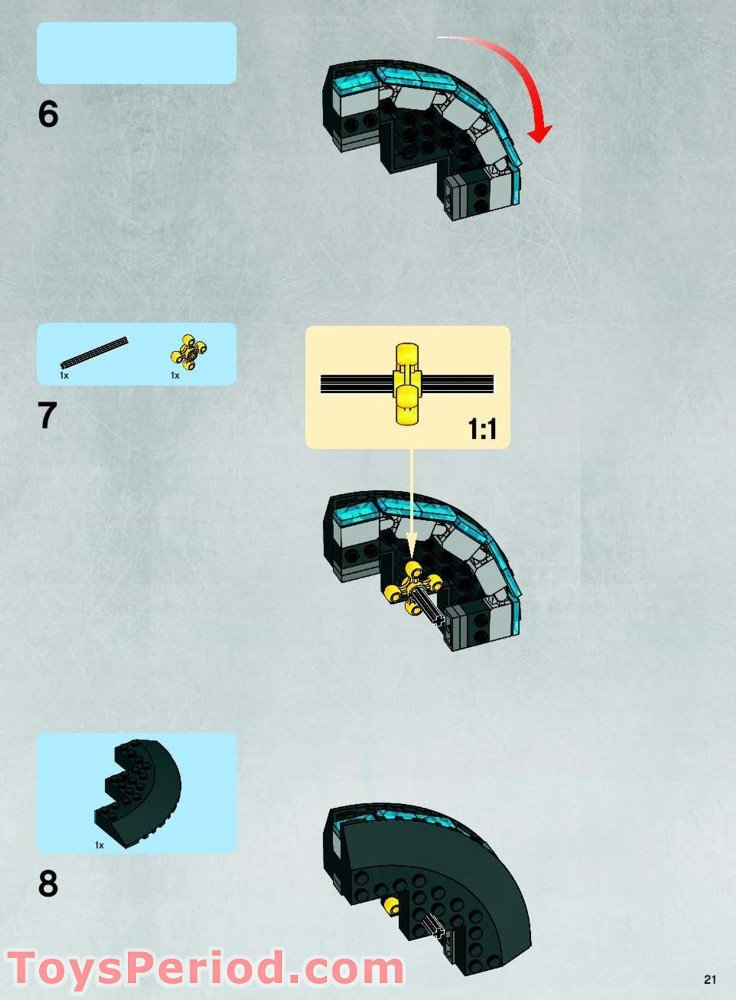 lego rogue shadow instructions