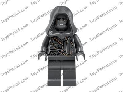 Lego New Torso PotC Vest with Gold Design with White Open Shirt Belt and Pendan