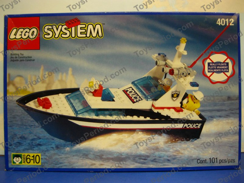 lego police boat 7287 instructions