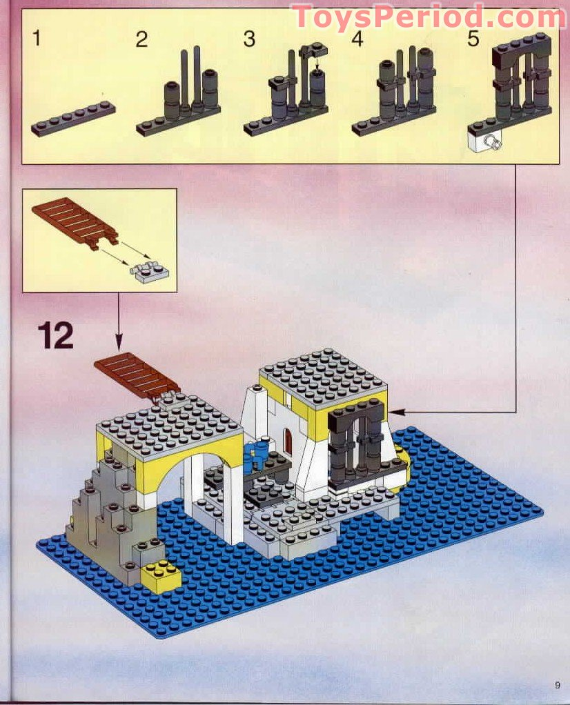 LEGO 6263 Imperial Outpost Set Parts Inventory and ...