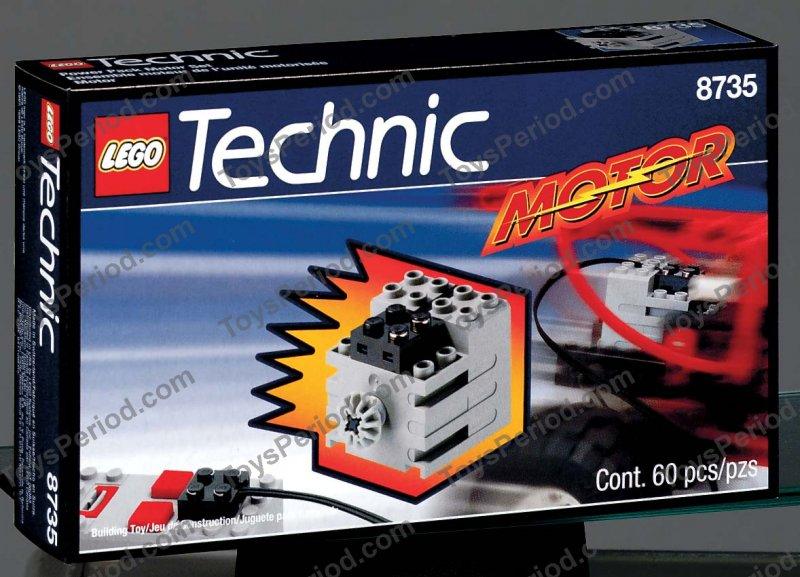 lego 8735 motor set 9v set parts inventory and. Black Bedroom Furniture Sets. Home Design Ideas