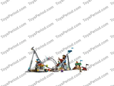 LEGO 31084 Pirate Roller Coaster Set Parts Inventory and