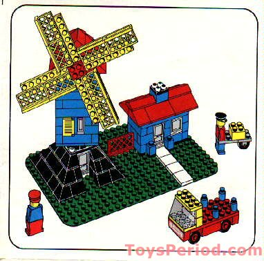 Lego 362 1 Windmill Set Parts Inventory And Instructions
