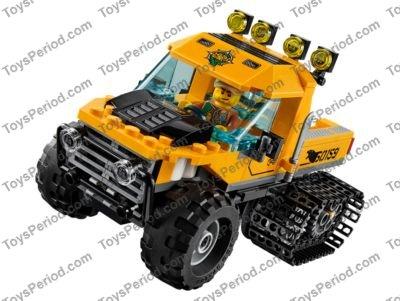 complet Lego la jungle//City Autocollant de Set 60159