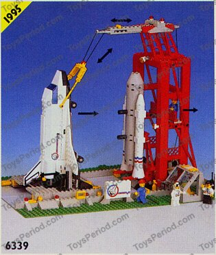 lego space shuttle launch pad 6339 - photo #8