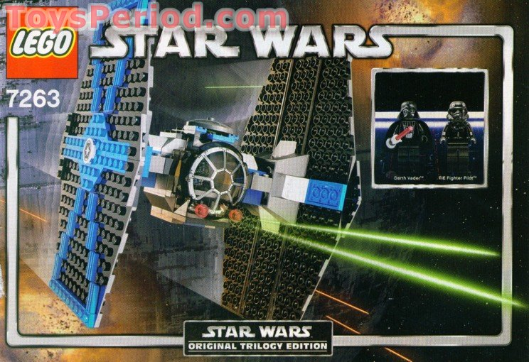 lego 7263 tie fighter set parts inventory and instructions - lego