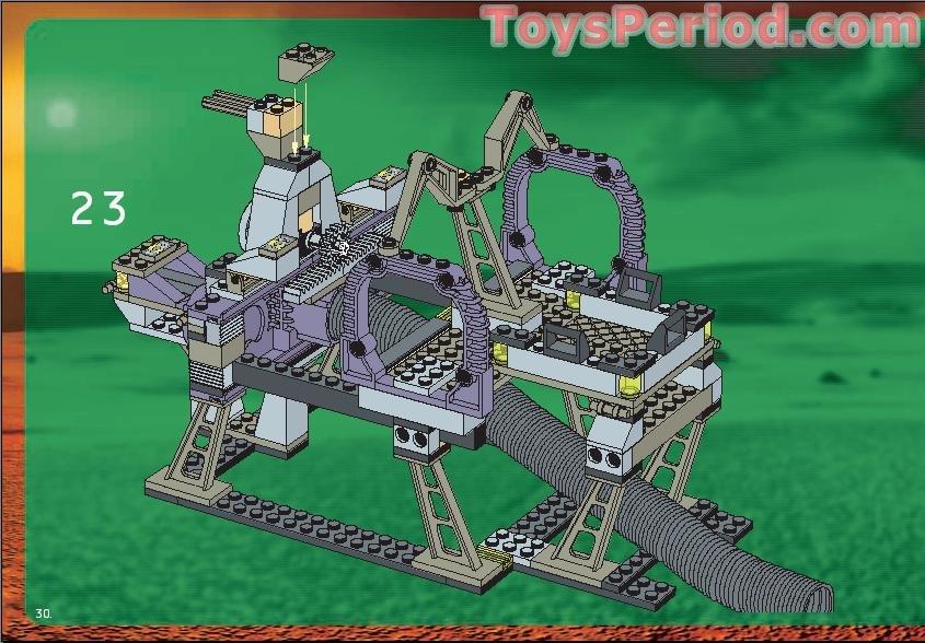 LEGO 7317 Aero Tube Hanger Set Parts Inventory and ...