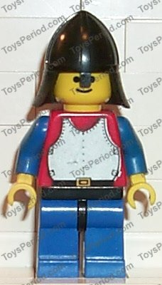 Lego 2x Castle Red Minifig Legs w// Dark Bluish Gray Hips NEW