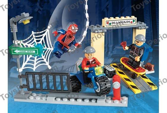 Red Torso w// Black Legs MINI FIGURE LEGO 4853 Jewel Thief 1 SPIDERMAN
