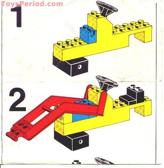 lego tractor building instructions