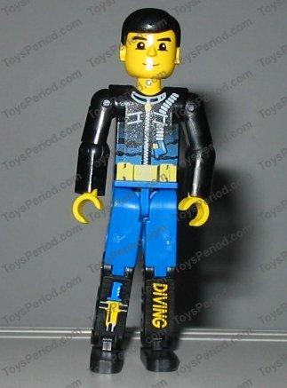 Palme pour Minifig Personnage LEGO TECHNIC Figure Flipper 32008 Set 8299 8250