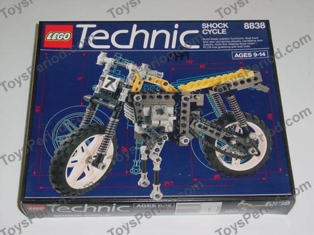 Lego 8838 Shock Cycle Set Parts Inventory And Instructions Lego