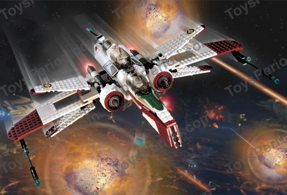 LEGO STAR WARS Slope bricks ref 3939px1 /& 3939px2 Set 7259 ARC-170 Starfighter