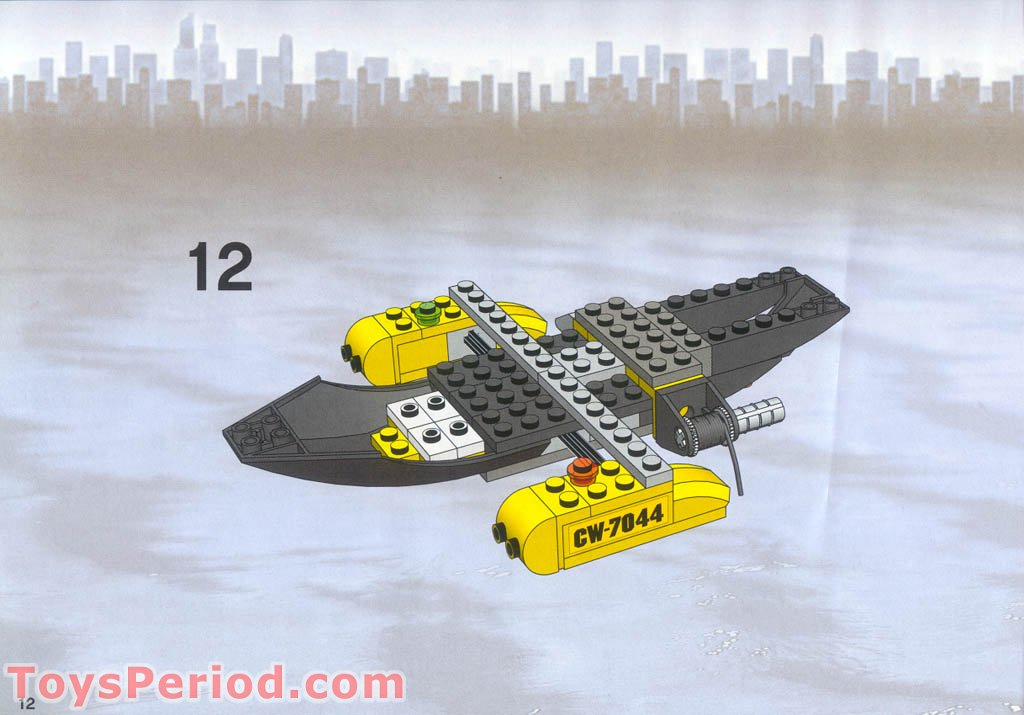 LEGO Lot of 4 Black 2x16 Airplane Rotor Blade Plate Pieces