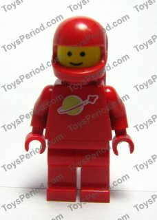 LEGO x 20 Red Minifig Headgear Helmet Standard NEW space helmet