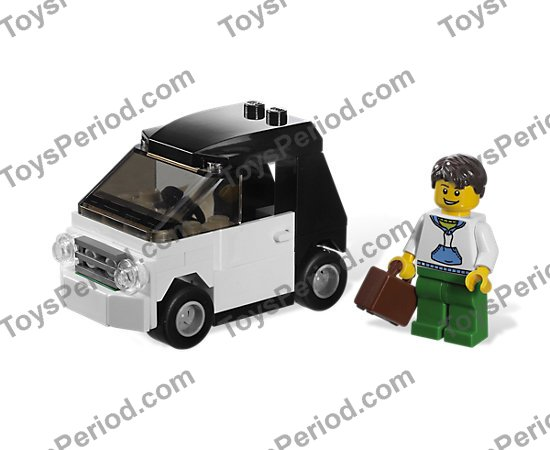 Lego 3177 Small Car Set Parts Inventory And Instructions Lego