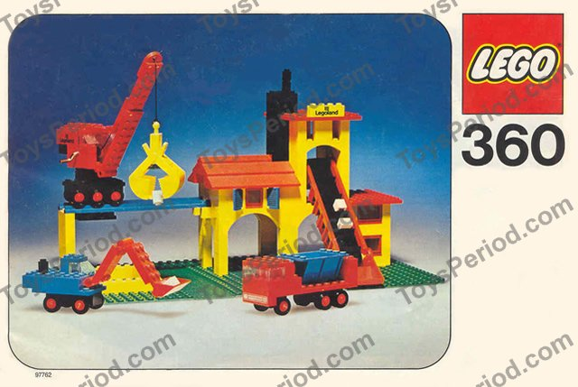 lego duplo quarry instructions